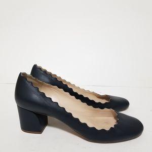 Chloe size 9 leather pumps
